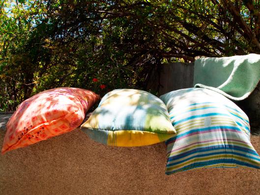 secando travesseiros