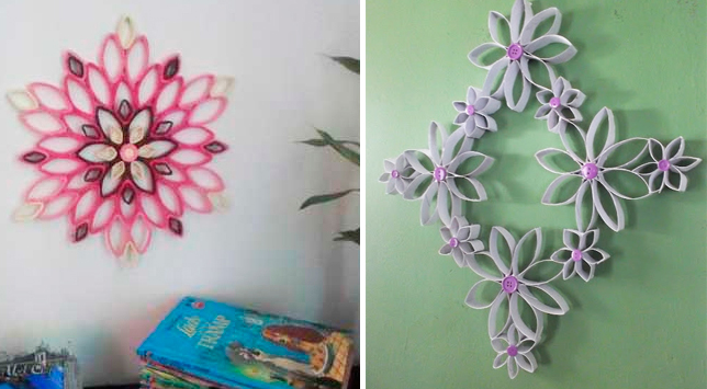 Mudando O Visual Da Casa Decoração Com Rolo De Papel Higiênico