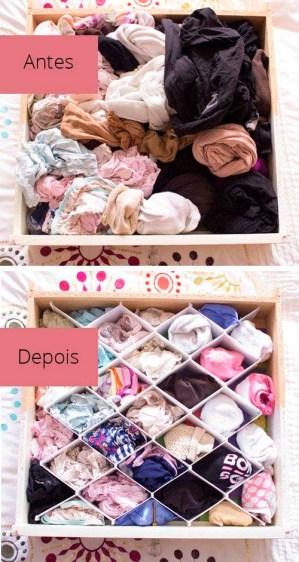 Como organizar gavetas