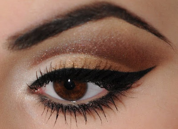 brow eye make up