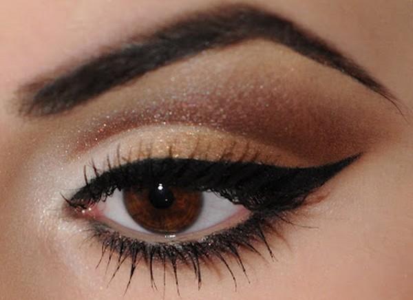 brow eye make up