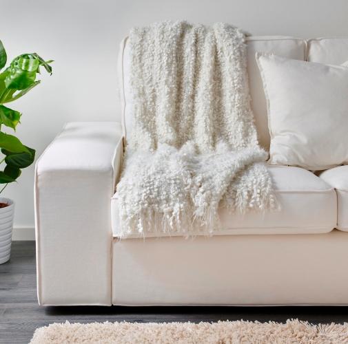 sofá manta